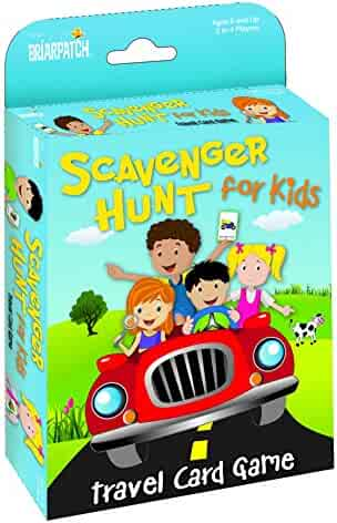 Travel Scavenger Hunt Card Game