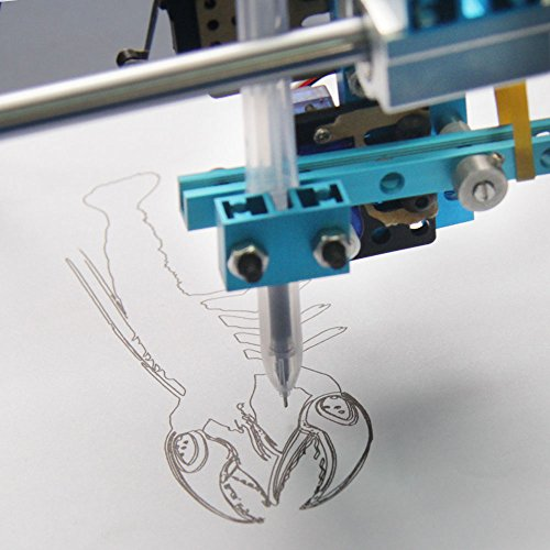 Makeblock DIY XY-Plotter Drawing Robot Kit Version 2 0 (With electronic) -  Ardunio Fan - Painter -Easily controlled by mDraw software