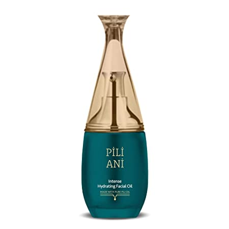 Pili Ani Intense Hydrating Facial Oil Serum – All-Natural Face Moisturizer and Hydrating Elemi and Pili Essential Oils – Skin Care for Intensive Moisture, Nourishment, and Hydration