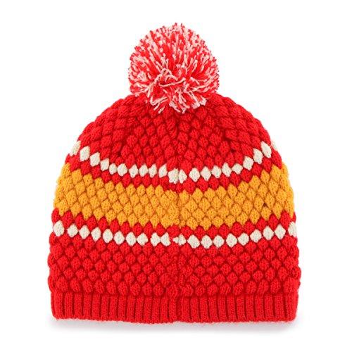 81daa7eced8ec Kansas City Chiefs Women s Pom Beanie – Football Theme Hats