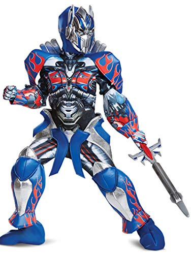 Disguise Optimus Prime Movie Prestige Costume, Blue,