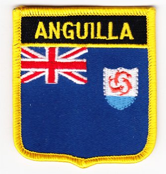 Anguilla - Country Shield Patch