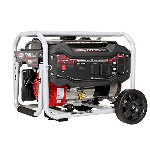 SIMPSON Cleaning SPG3645 Portable Gas Generator 3600 Running Watts 4500 Starting watt