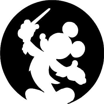 Amazon.co.jp: ミッキーマウス 車の窓 指揮者 ビニールデカール
