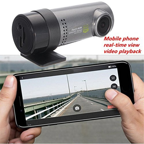 dreamyth非表示車HD 1080p WiFi DVR車カメラビデオレコーダーダッシュカム実用的 B07BYBSN62