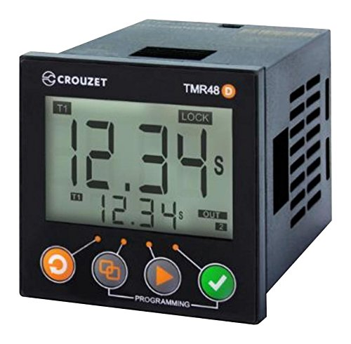 CROUZET CONTROL MDE1R05MVA Timer, Syr-line Series, Multifunction, Relay Output, 5 A, 100 to 240 Vac/dc