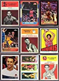 Ultmate Basketball Rookie Reprint (9) Card Lot #2 * Wilt Chamberlian, Michael Jordan, LeBron James, Kobe Bryant, Oscar Robertson, Julius Erving, Stephen Curry, Larry Bird, Magic Johnson, Jerry West