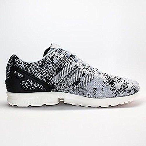 adidas Zx Flux Weave Men's Running Shoes Size US 9, Regular Width, Color Gray/Black