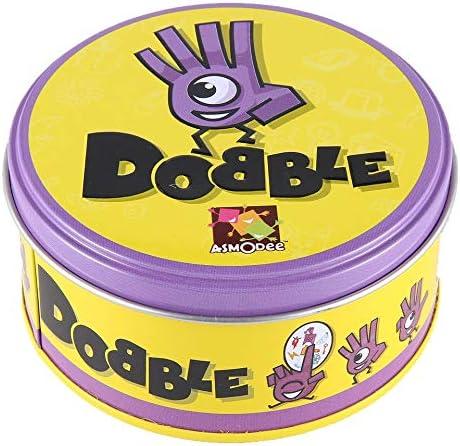 ARSUTE Juego de Mesa DOBBLE Spot Sport & Alphabet para niños ...