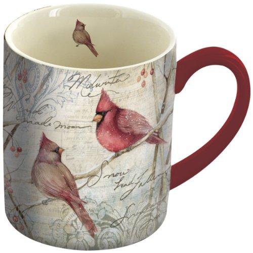 LANG Ceramic Coffee Cardinal Artwork product image
