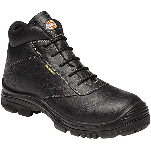 Dickies Unisex Fractus Metal Free Safety Boots Black XAqcO
