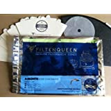 Filter Queen 6-month Filter Cone Pack with MediPure Cone - Genuine New Majestic
