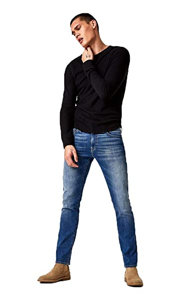 Amazon.com: Mavi Jake pantalones vaqueros ajustados ...