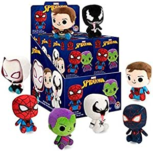 Marvel Mystery Minis Funko Spider-Man Collectible Plush Figures - Complete Display Unit of of 12 Blind Packs: Amazon.es: Juguetes y juegos