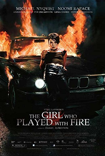 27 x 40 The Girl Who Played with Fire Movie Poster