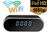 1080P Night Vision Wireless WIFI Electronic Clock Camera IP Remotely Monitor P2P CCTV Cam for Home Security Surveillance