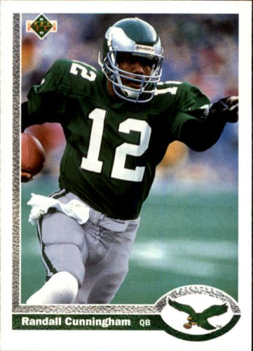 c6ca369c Amazon.com: 1991 Upper Deck Football Card #146 Randall Cunningham Mint:  Collectibles & Fine Art