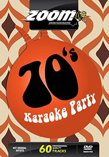 Zoom Karaoke DVD - Seventies Karaoke Party (70's) - 60 Songs (70s Karaoke)