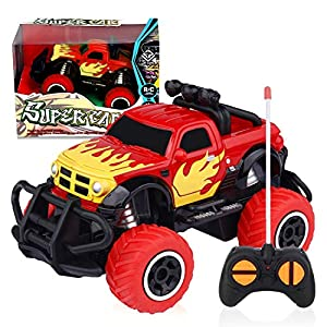 LOFEE Car Toy for 3-8 Years Old Boys, 2.4G Remote Control Car Toy for Kids Birthday Gift for 3-5 Years Old Boys RC Turck…