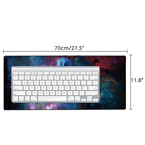 Cmhoo Large Mouse Pad Gaming & Professional Computer Extra Large Mouse Pad / Mat 27.5IN (7030 sky girl) Photo #2