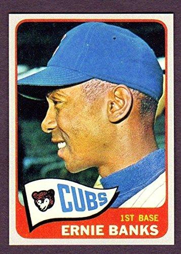 Ernie Banks 1965 Topps Baseball Reprint Card (Chicago Cubs)