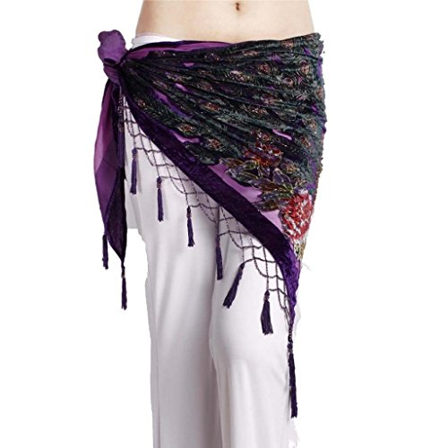 ZLTdream Womens Belly Trangular Velvet product image