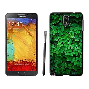 NEW Custom Designed For SamSung Note 4 Case Cover Phone With Lucky Clover_Black Phone