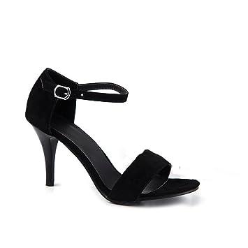 RFF-Frühlings-, Sommer- und Herbstschuhe Der Code, der im Sommer Damen Schuhe classic Tau-Toe Sandalen, lila, 43
