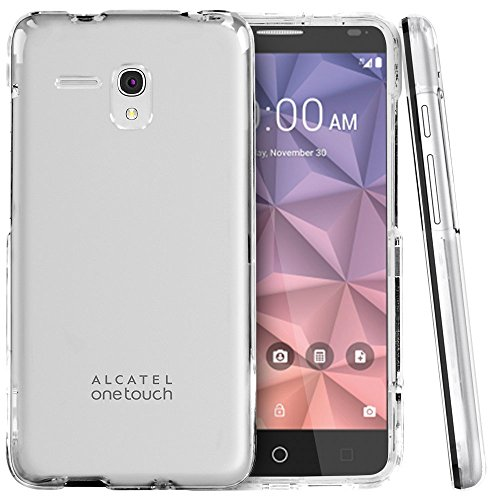 Alcatel One Touch Fierce XL 5054N - 16GB - Unlocked GSM 4G LTE Smartphone - Black & Silver - (Certified Refurbished) by Alcatel