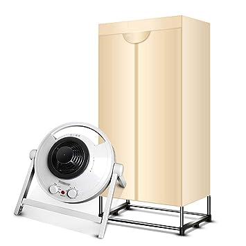 QXKMZ Secadoras por condensación de Ropa de Secado rápido para el hogar Secadora silenciosa Máquina eléctrica pequeña: Amazon.es: Hogar