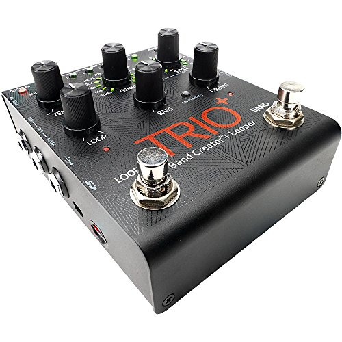 DigiTech Trio+ Band Creator Plus Looper Guitar Effects Pedal Level 2 Regular 190839149046 -  KMC Music ACCESSORIES, USED005010 TRIOPLUS-U