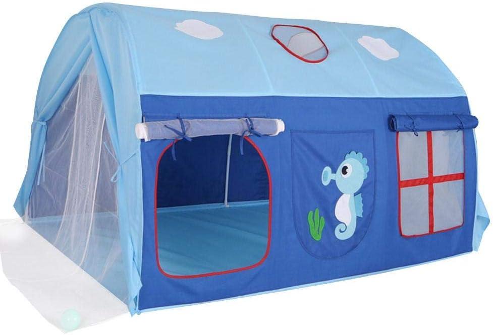 S-tubit Kids Play Tent & Playhouse - Casa de Juegos Interior/Exterior para niños y niñas, promueve el Aprendizaje temprano, la vinculación Social y el Juego de Roles, Regalo de cumpleaños de Navid
