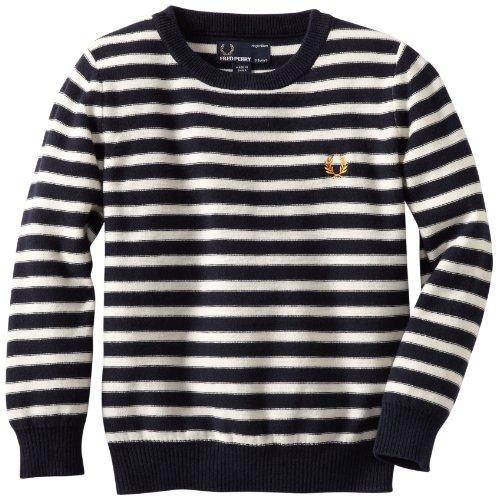 Fred Perry Boys 2-7 Breton Stripe Sweater