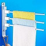 GOUGOU Space Aluminum Towel Hanging / Rotating Towel Rack / Bathroom Towel Rack