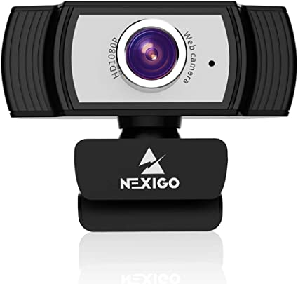 1080P Webcam with Microphone, 2021 NexiGo Streaming Computer Camera, for Zoom Meetings
