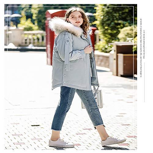 Cappuccio Donna Lunga l Piumino Lightblue Con Invernale Da lightblue Lungo Ultraleggero Slim Donna Giacca Soprabito yf4Ogq8Xq