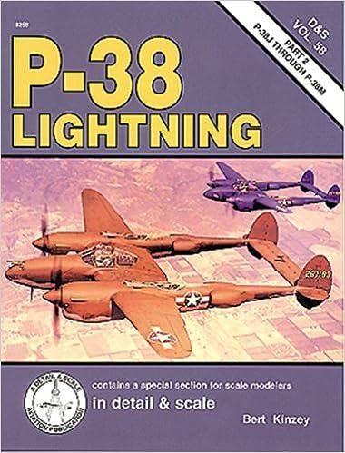 P-38 Lightning in detail & scale: XP-38 through P-38H