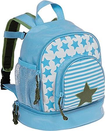 Lässig Mini Backpack Kinderrucksack Kindergartentasche, Brotdosenfach unten, Starlight Olive LÄSSIG LMBP169