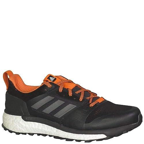 835a1ce72 adidas Men's Supernova Trail Running Shoes Carbon/Core Black/Orange 12 D(M)  US