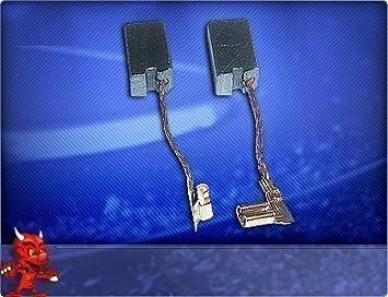 Kohlebürsten für Metabo Winkelschleifer EW E 9123 S Quick A16 EW E 9125 S Qu