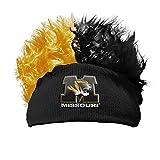 Missouri Tigers Beanie One Size Fits All Flair Hair Beanie OFFICIAL NCAA