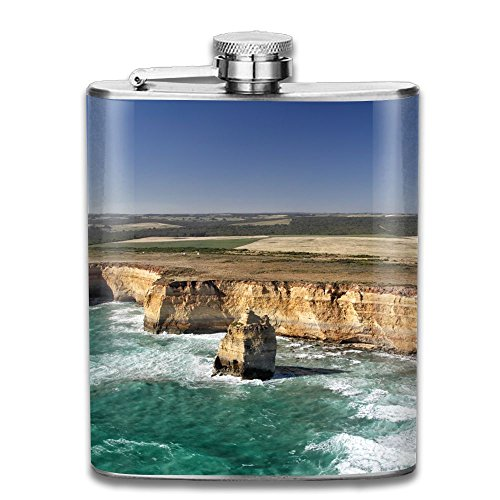 (SmallHan Aerial View Of The Twelve Apostles At The Great Ocean Road In The Port Campbell National Park Gift For Men 304 Stainless Steel Flask 7oz)