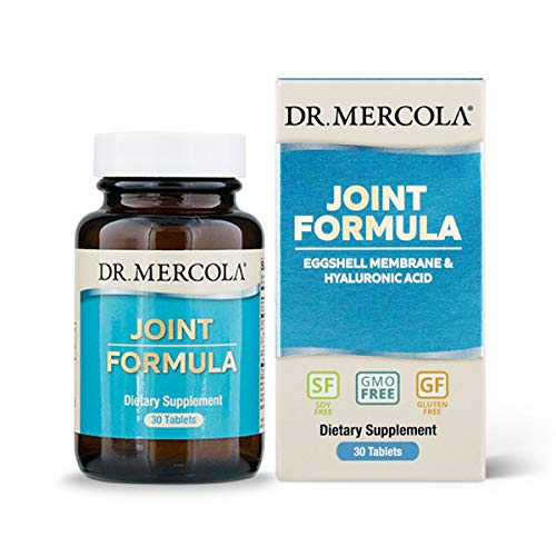 Dr. Mercola Joint Formula – 30 Tablets – Support Joint Health - Eggshell Membrane wit Hyaluronic Acid