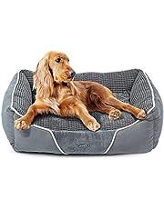 Cuccia Letto per Cani Piccoli Gatti Peluche Ultra-Morbido Rettangolare Lavabile in Lavatrice (S)