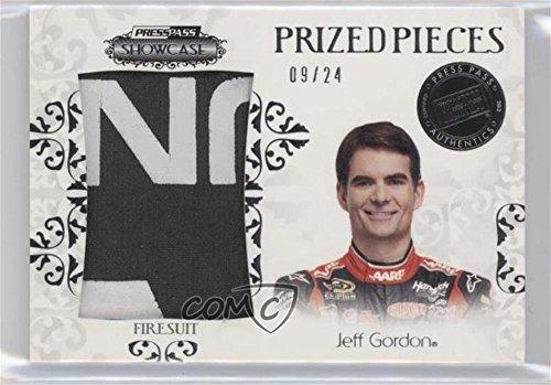 Jeff Gordon #9/24 (Trading Card) 2012 Press Pass Showcase - Prized Pieces Memorabilia -