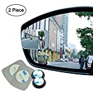 Blind Spot Mirror Frameless Liberrway Wide Angle Mirror