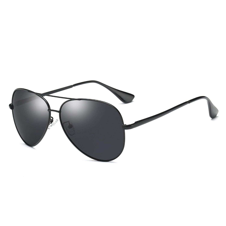 Amazon.com: Romantico Classic Men Pilot Polarized Sunglasses ...