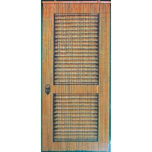 Bon Louver Door Beaded Curtain 125 Strands (+hanging Hardware)