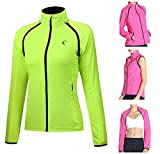 Shelcup Women's Windproof Water Resistant Convertible Cycling Running...