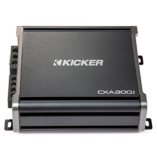 Amp Class Mono (Kicker 43CXA3001 600 Watt MONO Class D Power Car Audio Amplifier Amp CXA300.1)